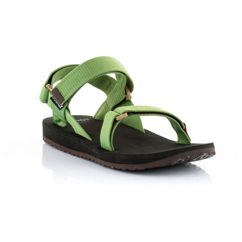 e2c59d31d5dd Sandals SOURCE Urban Men s Leather Green - gamisport.eu