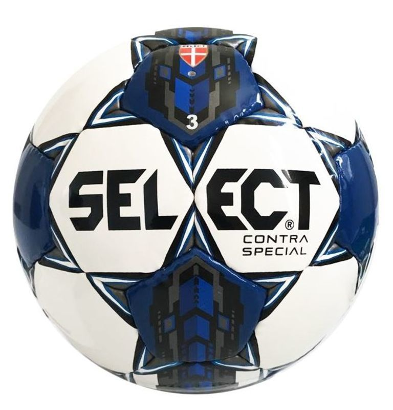 33b5d389 Football ball Select FB Contra Special white blue - gamisport.eu
