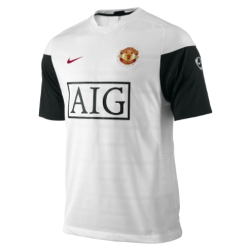98074f54f T-Shirt Nike FC Manchester United SS Training Top 355099-100 ...