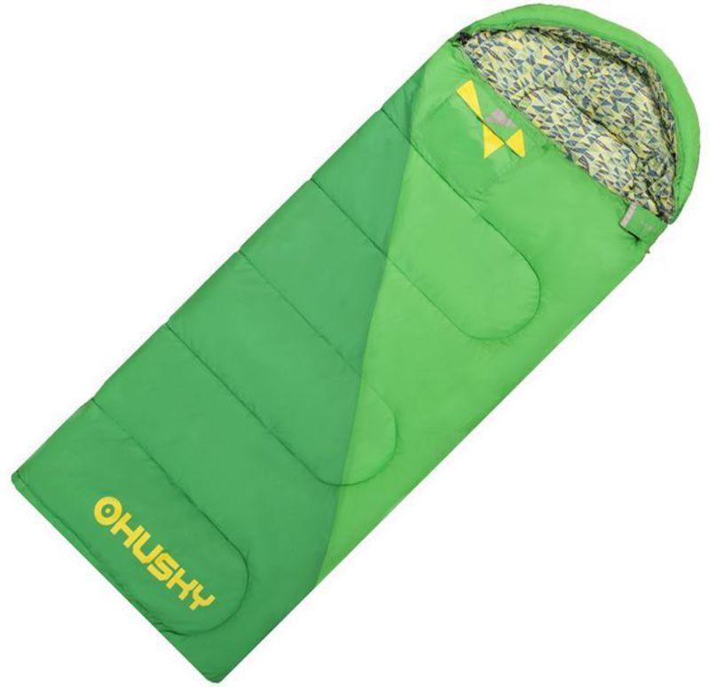 28a15ea295 Sleeping bag Husky Kids Milen -5°C green - gamisport.eu
