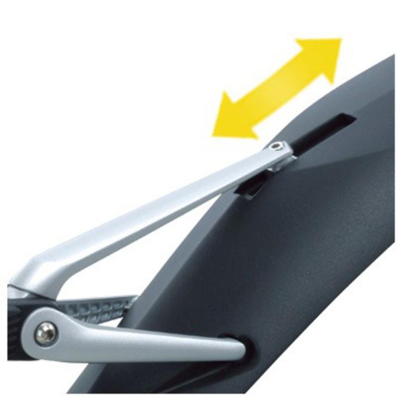 "Topeak Tc9640 Defender-Xc11-27.5/"" Clip-On Rear Fender"