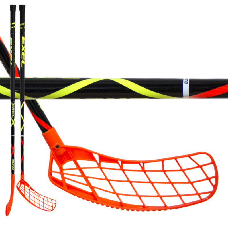 Floorball stick EXEL HELIX 2.9 black 98 ROUND SB
