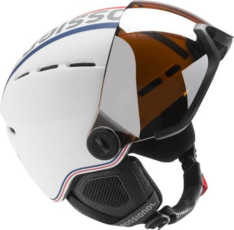 Ski helmet Rossignol Visor-Single Lense white RKFH201 - gamisport.eu a8a3d9255e0