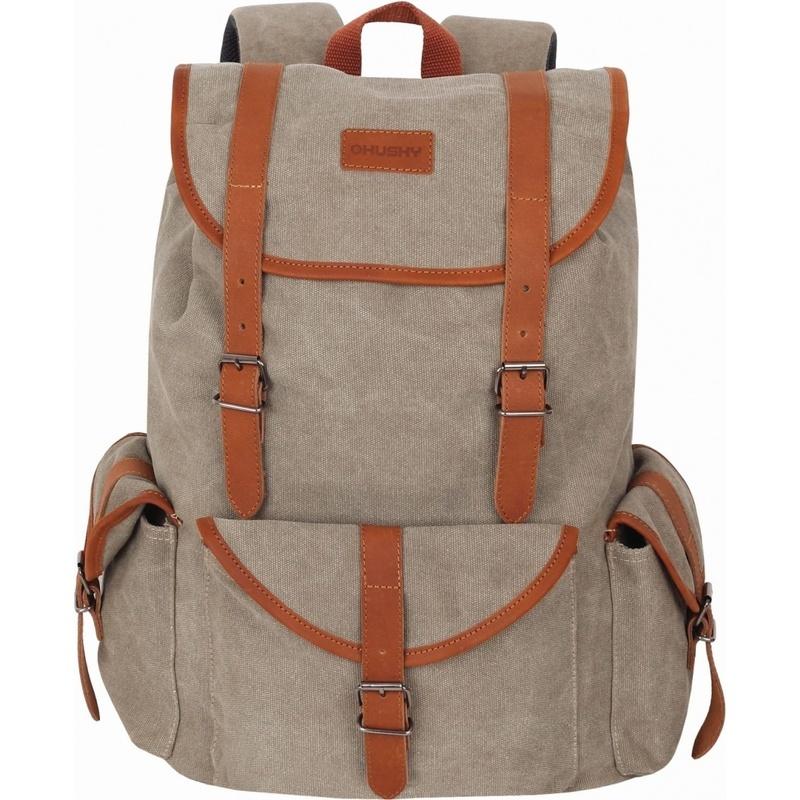e1ce9bfccd Backpack Husky City Pocket 20l beige - gamisport.eu