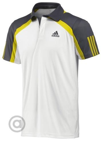 T shirt adidas men barricade traditional polo z08938 for Adidas barricade polo shirt
