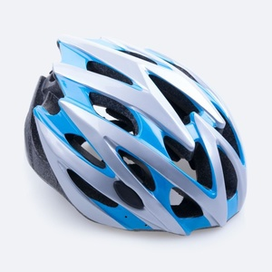 Cycling helmet Spokey SKY blue-white 55-58 cm, Spokey