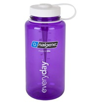 Bottle Nalgene Wide Mouth 1l 2178-2028 purple white, Nalgene