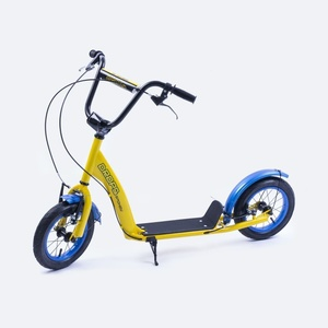 Scooter Spokey DROPS inflatable 12' wheels yellow, Spokey