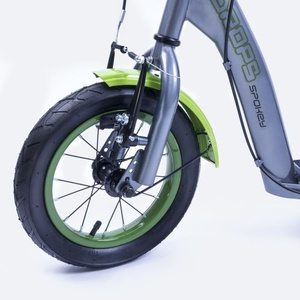 Scooter Spokey DROPS inflatable 12' wheels blue, Spokey