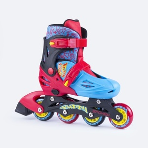 Roller skates Spokey BUDDY blue-red, Spokey