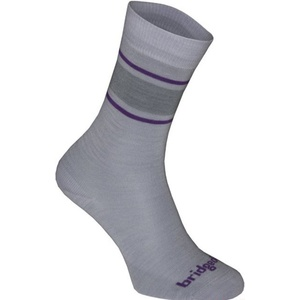 Socks Bridgedale Merino Sock / Liner grey/purple/065, bridgedale