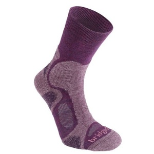 Socks Bridgedale CoolFusion TrailBlaze women's ML plum/350, bridgedale
