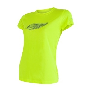 Women shirt Sensor COOLMAX FRESH PT FEATHER reflex yellow 17100040, Sensor