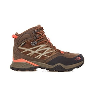 Shoes The North Face W HH HIKE MID GTX MOREL BROWN / RAD CDF3GRX, The North Face
