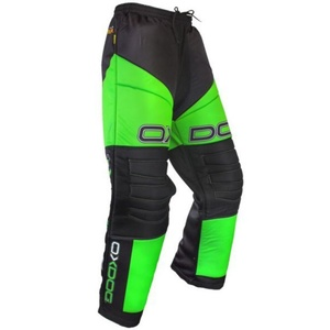 Goalkeepers pants OXDOG VAPOR GOALIE PANTS JUNIOR black / green, Oxdog