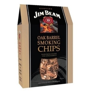 Wooden chips to smoking Jim Beam