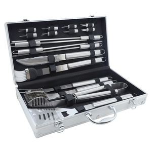 BBQ tools set 18ks Cattara ALU case, Cattara