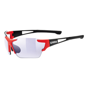 Sports glasses Uvex Sports Style 803 RACE IN M Black Red Mat (2303), Uvex