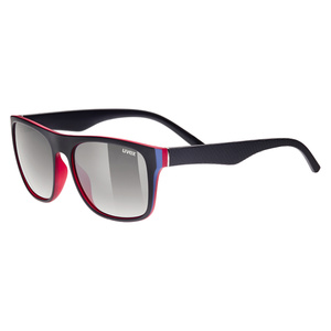 Sun glasses Uvex LGL 26 Black Red (2316), Uvex