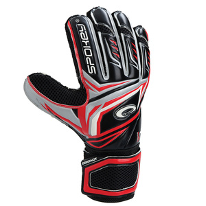 Goalkeepers gloves Spokey CONTACT II red, Spokey