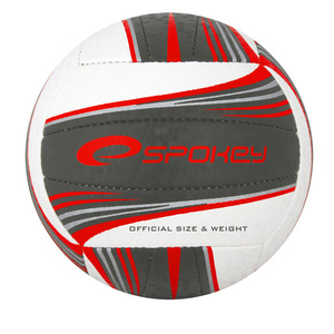 Volleyball ball Spokey GRAVEL II white-gray, Spokey
