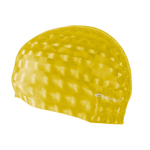 Swimming cap Spokey TORPEDO 3D yellow, Spokey