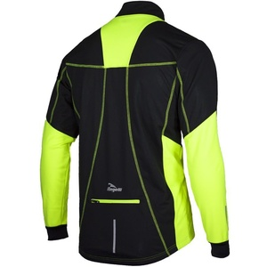 Jacket Rogelli Ubaldo black-reflective yellow 003.027, Rogelli