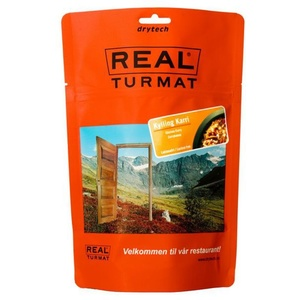 Real Turmat Chicken to curry with rice, 138 g, Real Turmat