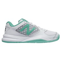 Women tennis boots New Balance WC696TW2 white, New Balance