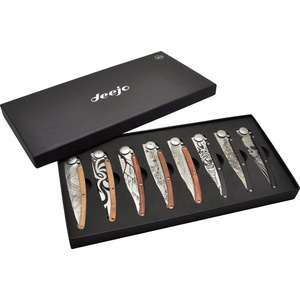 Deejo set 8 knives Tatto 37G DEE012, Deejo
