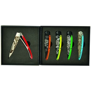 Deejo set 5 knives Tattoo Street 37G DEE037, Deejo