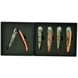 Deejo set 5 knives Tatto Fantasy 37G DEE039, Deejo