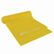 Fitness rubber Spokey RIBBON yellow light, Spokey