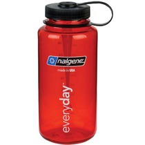 Bottle Nalgene Wide Mouth 1l 2178-2023 red, Nalgene