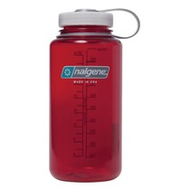 Bottle Nalgene Wide Mouth 1l 2178-2042 outdoor red, Nalgene