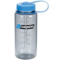 Bottle Nalgene Wide Mouth 0,5l 2178-9016 gray, Nalgene