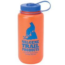 Bottle Nalgene Wide Mouth 682007-0422 orange cat logo, Nalgene
