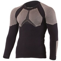 Men thermal shirt Lasting Rolo 9070 black, Lasting