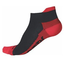 Socks Sensor Coolmax Invisible black red 1041006-16, Sensor