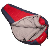 Sleeping bag Rock Empire Cyklotour KT-13047 red blue L, Rock Empire
