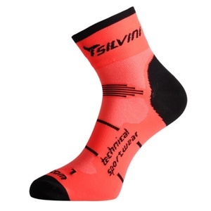 Socks Silvini Orato UA445 orange, Silvini