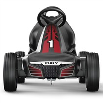 Children pedaling cart PUKY Go Cart Air F 550 black / red, Puky