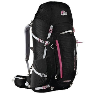 Backpack Lowe alpine Axiom Alpamayo ND 55:75 black / fuchsia, Lowe alpine