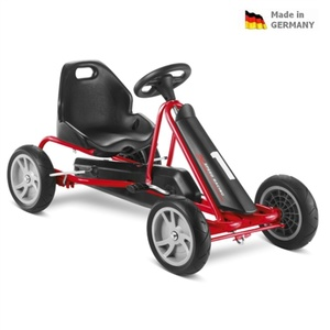 Children pedaling cart PUKY Go Cart F 20 black / red, Puky